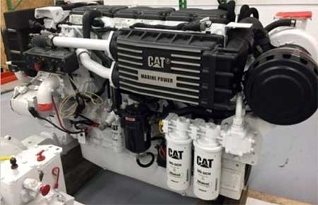 Caterpillar CAT C18 Marine Diesel Engines