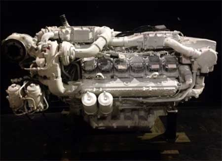MAN V12 1550 Marine Diesel Engine